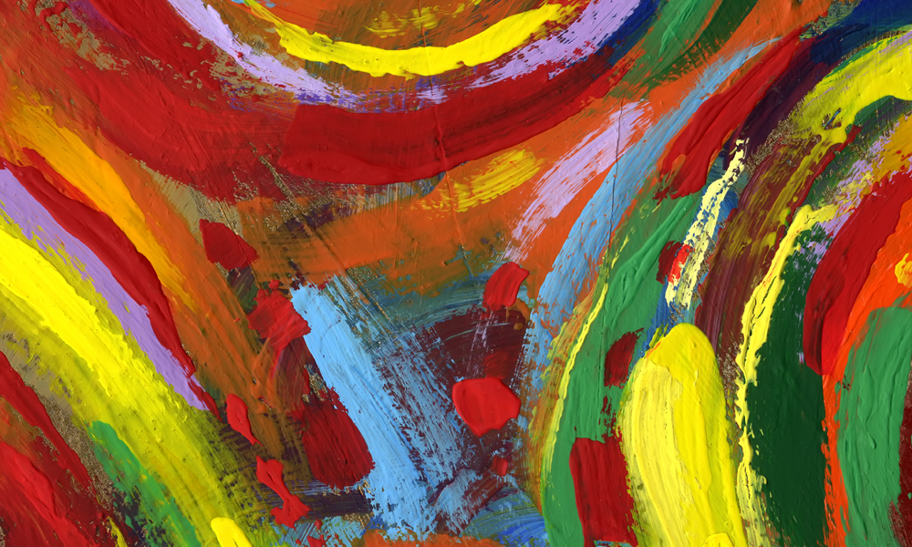 Abstract Modern Art Painting Class | Singapore Lessons