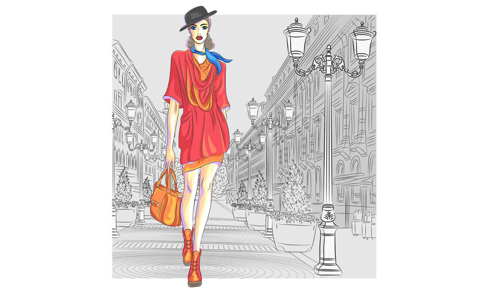 Online Fashion Sketching Course